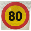 RSL001 - Reflective Speed Limit Sign