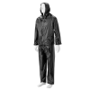 DROMEX Rubberised Rain Suit - Black