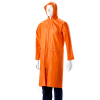 DROMEX Rubberised Raincoat - Calf Length - Orange