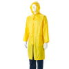 DROMEX Rubberised Raincoat - Calf Length - Yellow