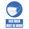 SSE027 - Face Mask Should Be Worn Explanatory Sign