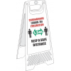 SSE038 - Keep A Safe Distance Floor Stand