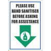 SSE050 - Please Use Hand Sanitiser Sign