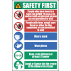 SSE054 - Safety Precaution Sign #1