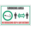 SSE065 - Smoking Area Sign