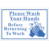SSE073 - Wash Hands Sign