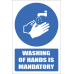 SSE075 - Washing Of Hands Is Mandatory Sign