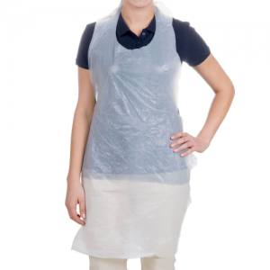 Disposable Aprons - White (100 pack)