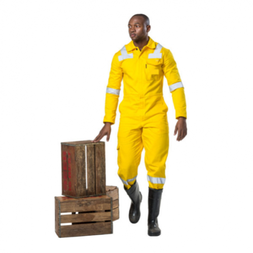 DROMEX D59 - 100% Cotton Mining Boilersuit - Yellow