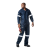 DROMEX D59 - Sasol Spec Flame & Acid Retardant Conti Pants - Navy Blue
