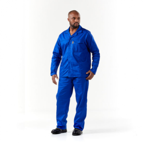 DROMEX J54 - Executive Fit Conti Suit - 100% Cotton - Royal Blue