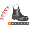 DOT Chelsea Safety Boot - Black