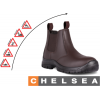 DOT009 - DOT Chelsea Safety Boot - Brown