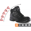 DOT Hiker Safety Boot - Black