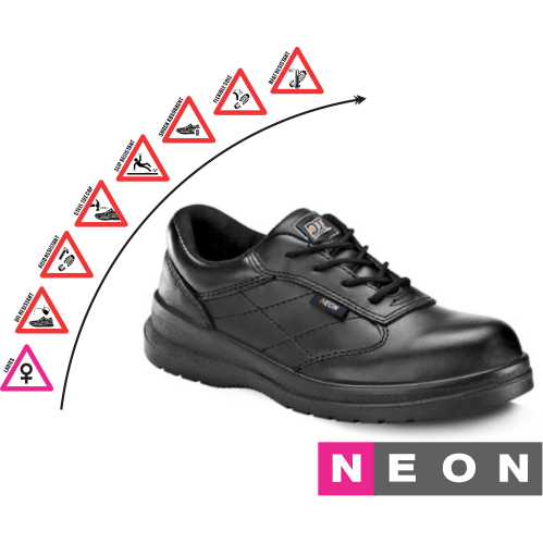 DOT Neon Safety Shoe