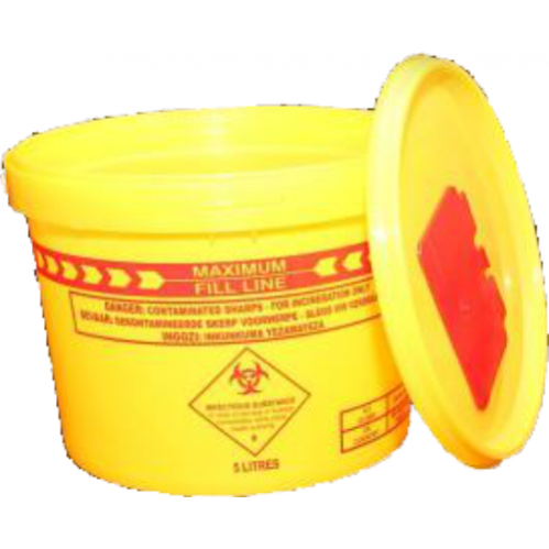 Sharps Container - 5L
