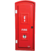 Fire Extinguisher - 5kg CO2 Hinged Door Cabinet (Polyethylene)