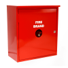 Fire Extinguisher Steel Cabinet - 4.5kg DCP - Double Bottle