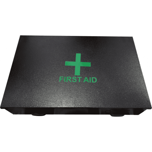 Mining Metal First Aid Box - Black (Box Only)