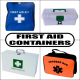 First Aid Containers