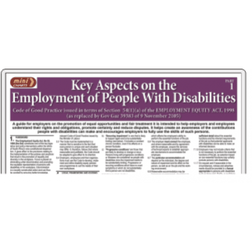 Employment of People with Disabilities - Part 1 - Poster