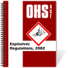 Book - OHS Act - Explosives Regulations