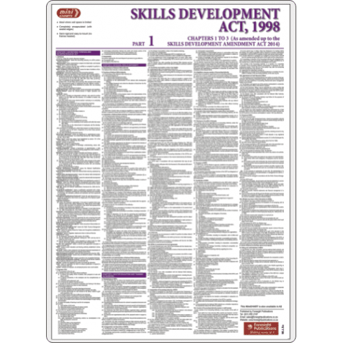 Skills Development Act - Full - Poster