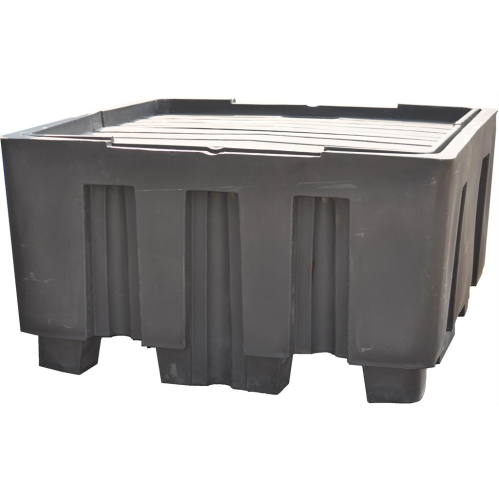 IBC Polyethylene Spill Deck - 1100L - In Catchment