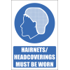 H11 - Headcoverings Must Be Worn Sign