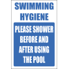 H22 - Swimming Hygiene Sign