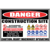 C33 - Construction Site Sign