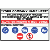 C31C - Construction Site Sign
