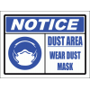 C27 - Dust Area Sign