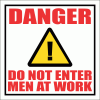 C9 - Men At Work Sign