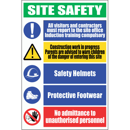 C22 - Site Safety Sign