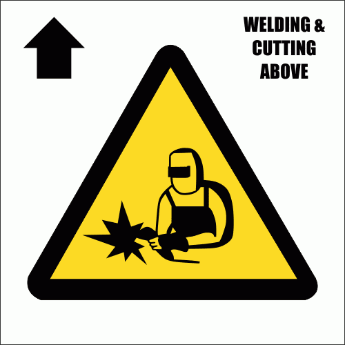 C15 - Welding And Cutting Above Sign