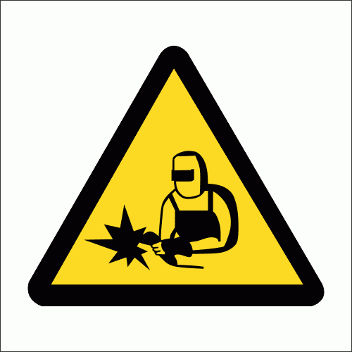 C16 - Welding And Cutting Sign