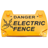 EL22 - Danger Electric Fence Standard Clip On Tag