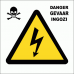 EL3 - Electrical Shock Danger Sign