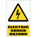 EL1E - Electrical Shock Hazard Explanatory Sign