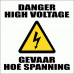 EL8 - High Voltage Electrical Sign