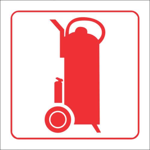 FB14 - SABS Fire Trolley Safety Sign