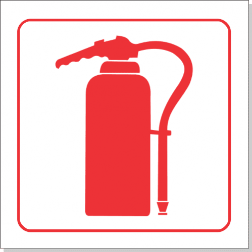 FB2 - SABS Fire Extinguisher Safety Sign