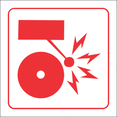 FB5 - SABS Fire Alarm Safety Sign