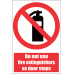 FR48 - Door Stop Safety Sign