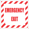 FR7 - Emergency Exit Safety Sign