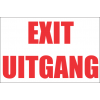 FR12 - Exit Safety Sign