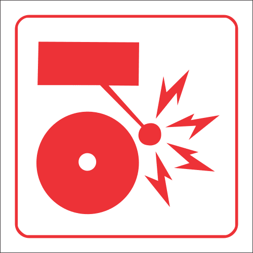 FB5 - Fire Alarm Safety Sign