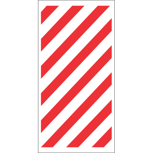 FR20 - Fire Chevron Safety Sign