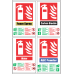FR49 - Fire Extinguisher Combo Safety Sign